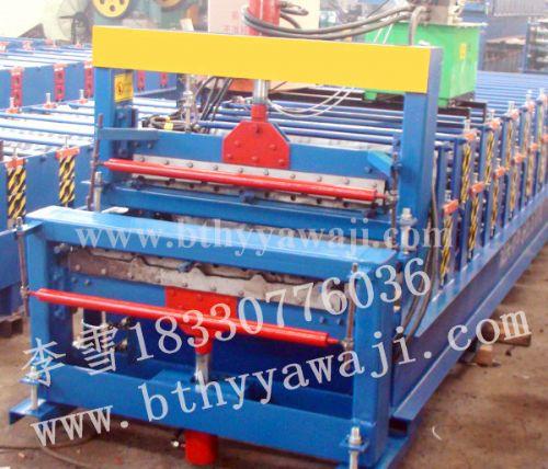 供应双层彩钢瓦成型设备