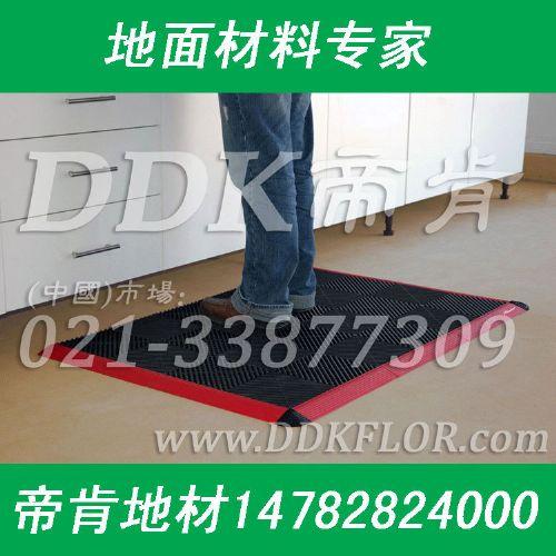 工厂车间用防滑耐磨地毯,黑色车间地胶垫