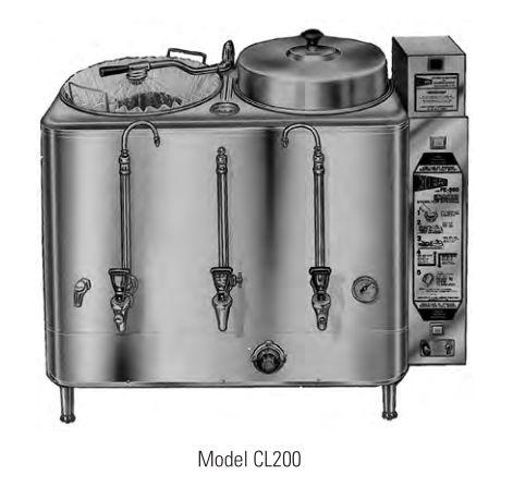 美国思维牌Cecilware CL-200 2*6加仑双槽咖啡鐣