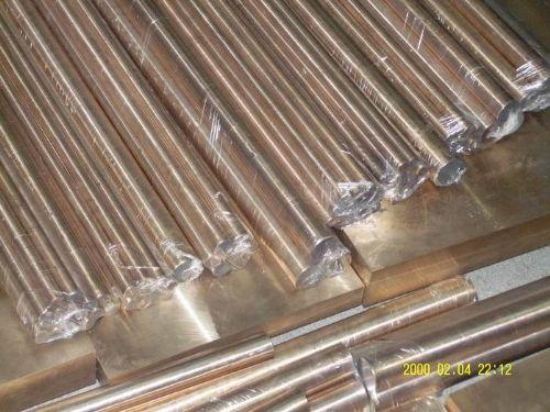 高硬度铍铜板 易车削C17300铍铜棒铜合金