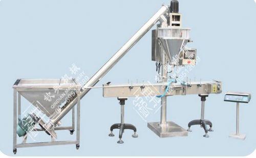 云母粉粉料自动定量包装机