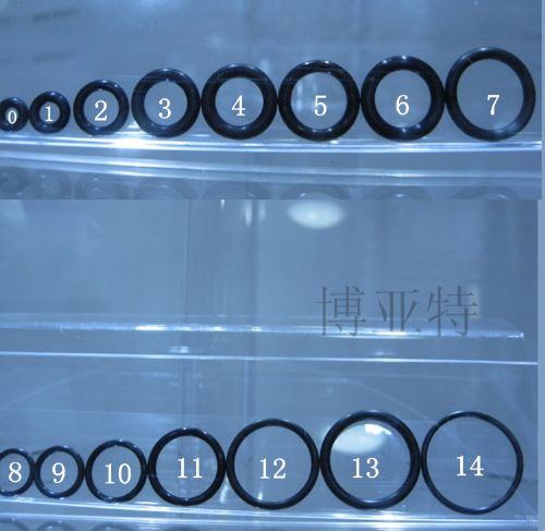 FFKM抗侵蚀橡胶密封圈 进口小尺寸O型圈