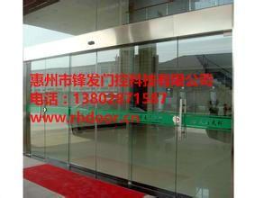 惠州自动玻璃感应门