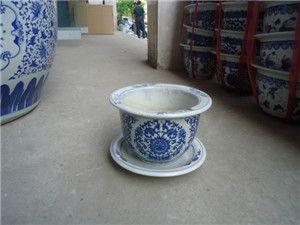 批发陶瓷花盆,景德镇陶瓷花盆