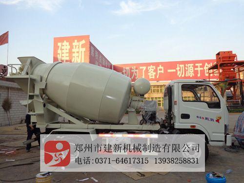 混凝土运输搅拌车生产厂家HYC搅拌车相关配置及报价郑州市建新机械