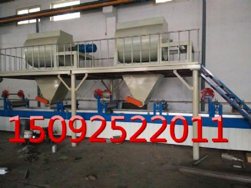 山东鑫伟批发硅酸钙板聚苯颗粒复合夹芯隔断墙板生产线设备