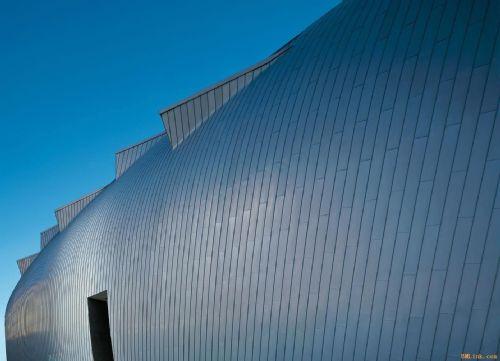 供应直立双锁边合金屋面板-钛锌屋面板