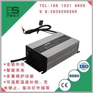 电动餐车铅酸电池充电器/超威铅酸免维护电池充电器