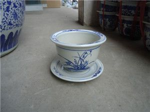 陶瓷花盆,供应陶瓷大花盆,兰花花盆