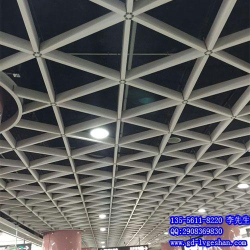 泰安铝格栅价格 三角形铝格栅 型材铝格栅