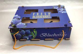 蓝莓礼品箱 蓝莓木箱 供应包装箱厂家商家