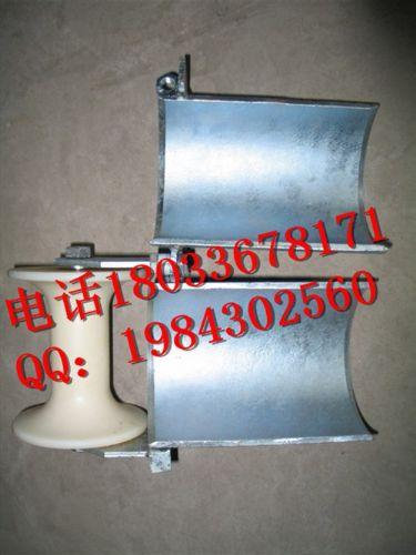 铝轮尼龙轮φ80mm-φ200mm管口保护滑轮孔口电缆滑车