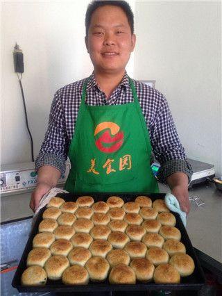 老北京烧饼培训 老北京芝麻油酥烧饼培训