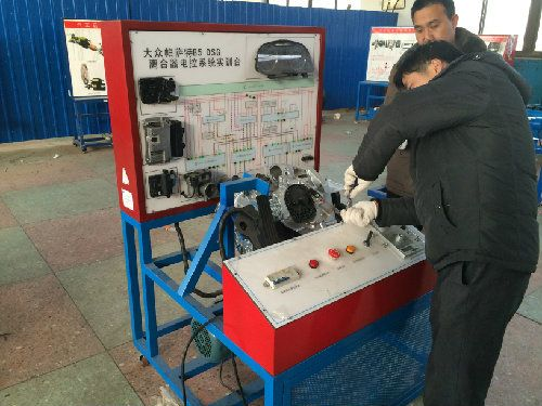 大众DSG手自一体双离合变速器实训台
