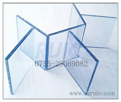 透明双面永久性防静电PC板_阳光板|耐力板|PC板|PC阳光板|