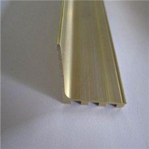 家具装饰H59黄铜异型材-深圳黄铜防滑铜条长度