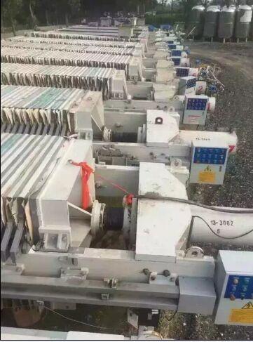 二手厢式压滤机供应厂家
