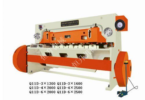 Q11D-4×2500机械剪板机