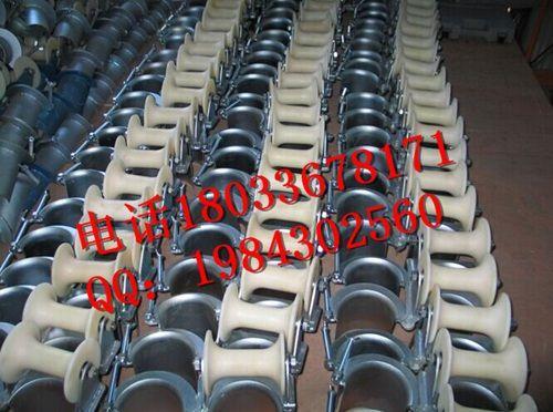 铝轮尼龙轮φ80mm-φ200mm管口保护滑车孔口电缆滑轮