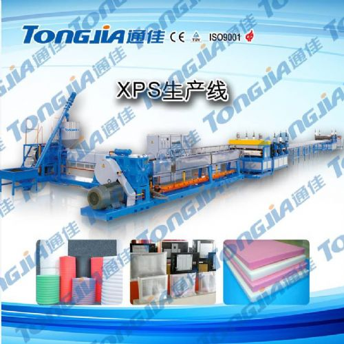 75P发泡保温板生产线 保温板设备 发泡板材设备 高产量发泡设备