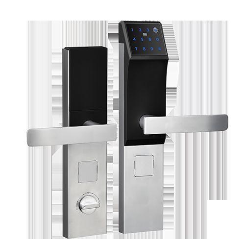 手机智能门锁(含指纹密码刷卡)