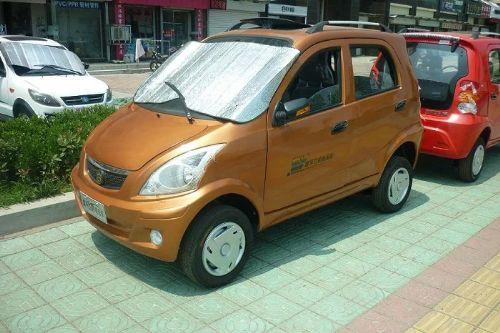 富平飞虎H7电动代步车 油电混合代步车 老年代步