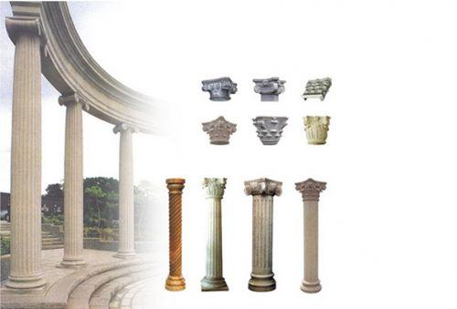 水泥罗马柱价格图片