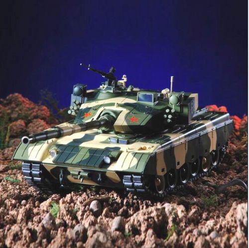 军事模型 军模 军事模型制作 96B式坦克模型
