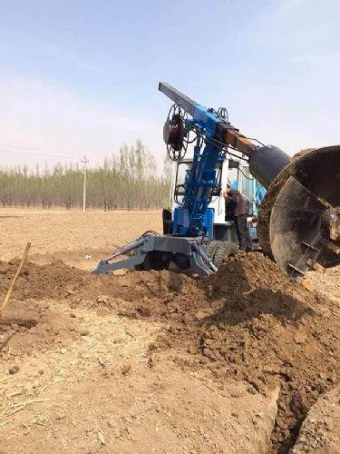挖掘机轮式旋挖钻 轮式打桩机 大直径旋挖钻机