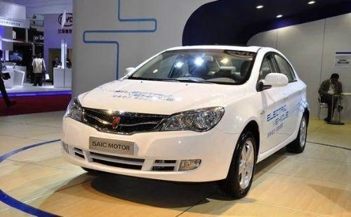 荣威350EV电动汽车高清图片