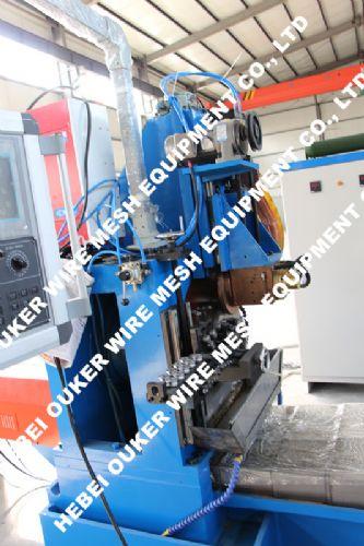 欧科制造,V型高精纯圆约翰逊绕丝筛管设备,滤圆设备,石油滤管设备