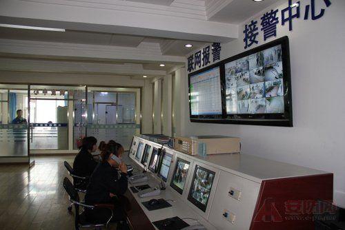 小区110联网报警系统中心