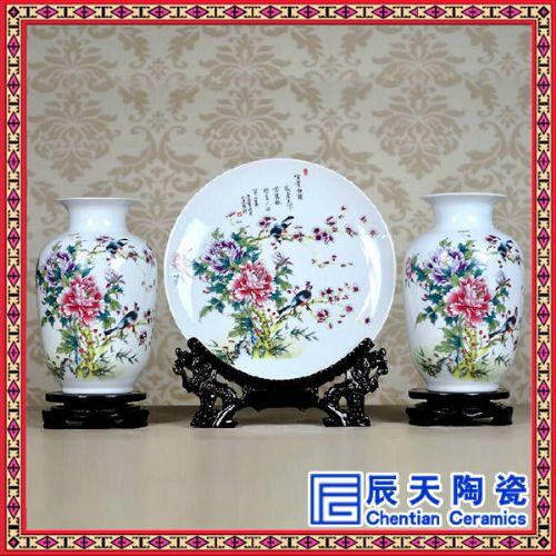 欧式礼品陶瓷摆件定做 景德镇陶艺品