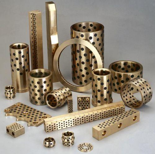 500#SP固体镶嵌自润滑轴承/SPF带挡边石墨铜套