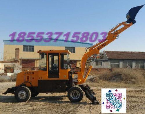 轮式挖掘装载机械