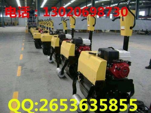 单轮手扶汽油压路机 单轮汽油压路机