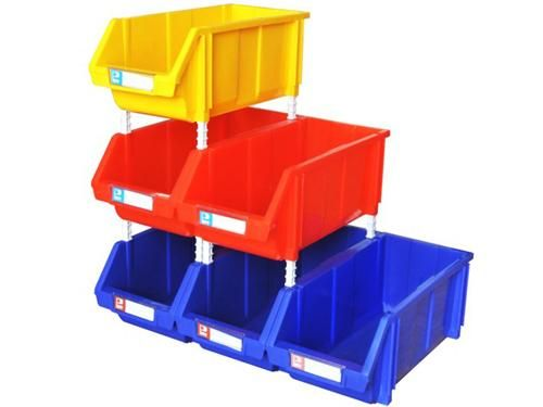 批发组立组合零件盒库房仓储货架塑料盒子电子元件盒零件箱物料盒