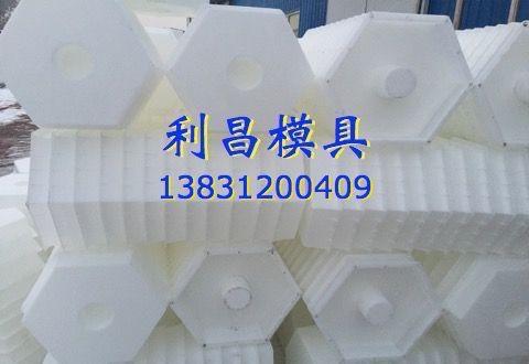 实心六角护坡塑料模具价格