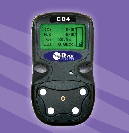 华瑞便携式CD4矿用四合一气体检测仪