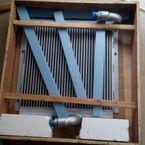 小松pc60-7挖掘机液压油散热器