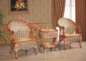 美林椅 真藤家具套装三件套带茶几