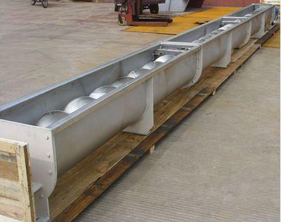 睿辉公司供应螺旋输送机转为除尘器输灰设计