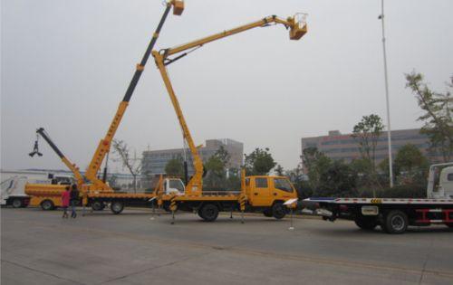 江铃双排14米高空作业车