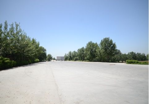 西安车试通试驾场地,唯一的一处生态汽车运动基地