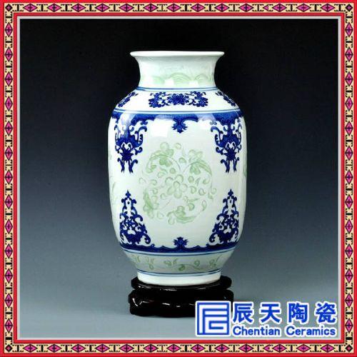 陶瓷小件摆设花瓶供应 景德镇陶瓷花瓶生产