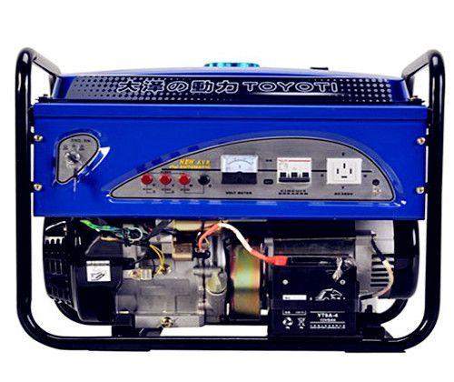8千瓦电启动汽油发电机