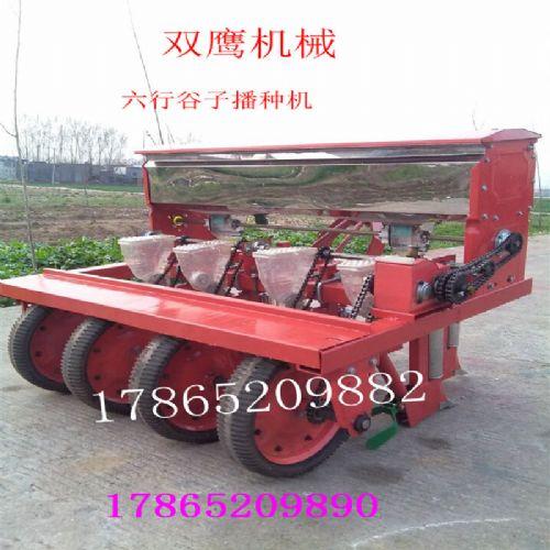 四轮悬挂式播种机 山西小米种植机械