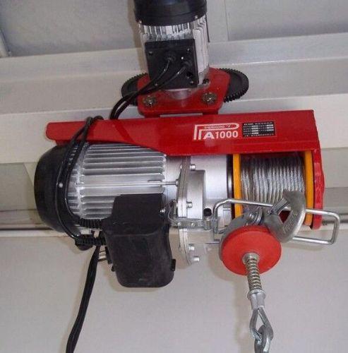 500公斤微型电动葫芦故障排除