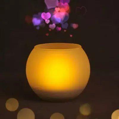 欧司朗仿蜡烛灯LED 床头灯创意灯酒吧灯情调灯电子吹控灯爆款