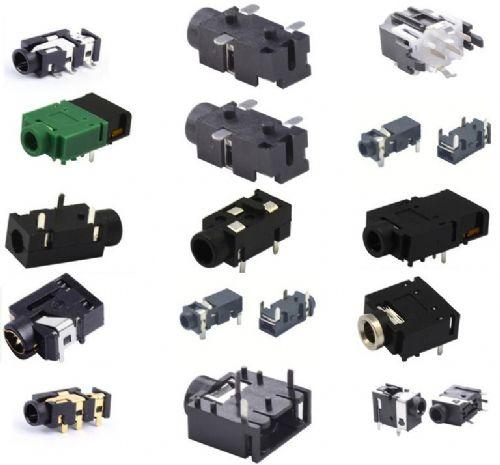耳机插座内部电路/耳机插口内部结构解释/耳机插孔图